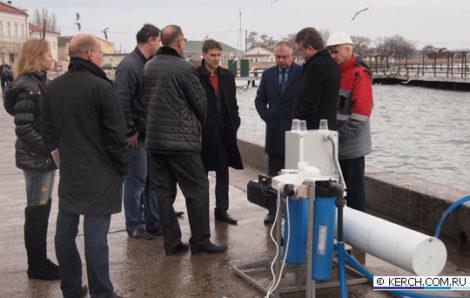 Презентация опреснительной установки в Керчи